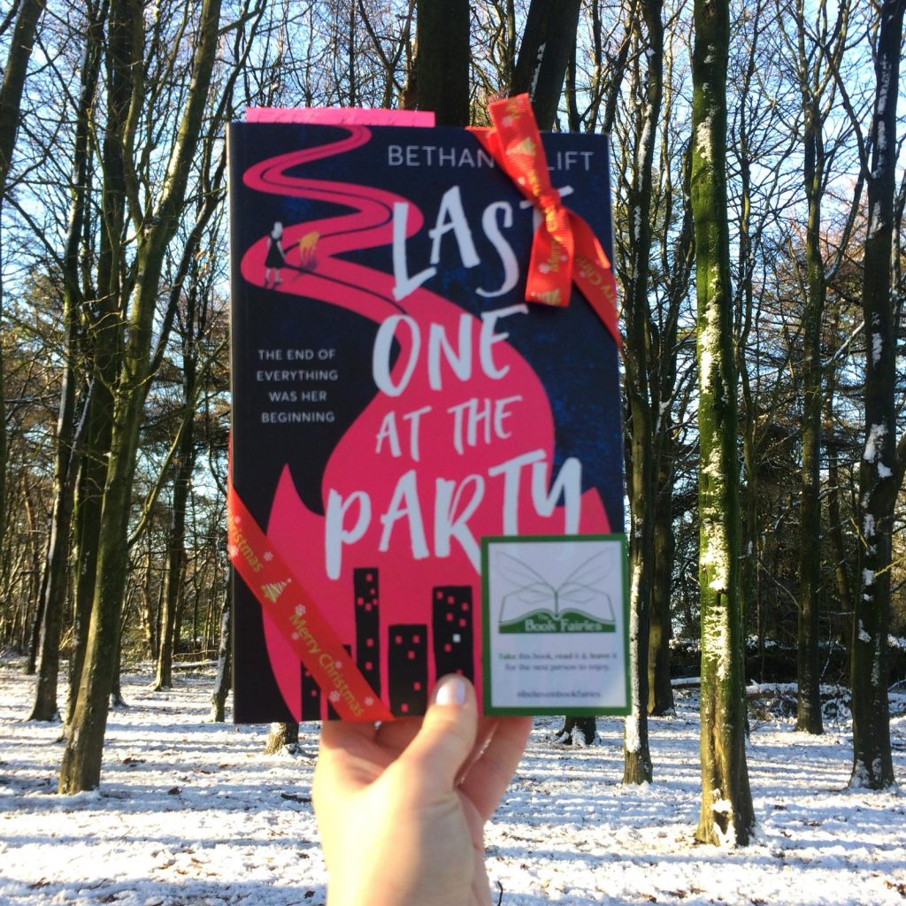 Last One At The Party novel hidden by book fairies in the UK
