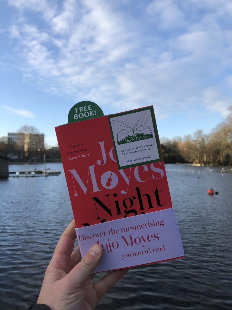 book fairies in the park - The Book Fairies hide copies of JoJo Moyes' Night Music