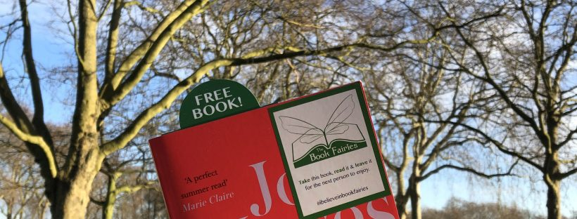 Early morning book fairies: The Book Fairies hide copies of JoJo Moyes' Night Music