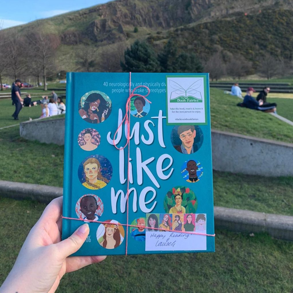 At a playground - The Book Fairies hide Louise Gooding debut Just Like Me