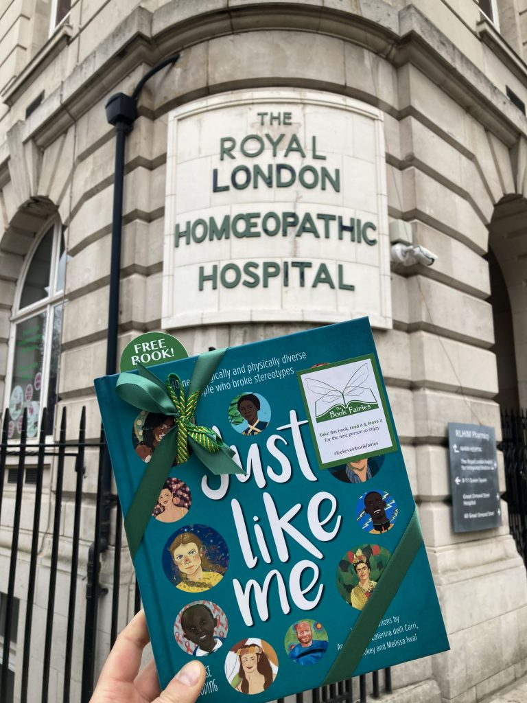 Waiting at a Homeopathic Hospital - The Book Fairies hide Louise Gooding debut Just Like Me