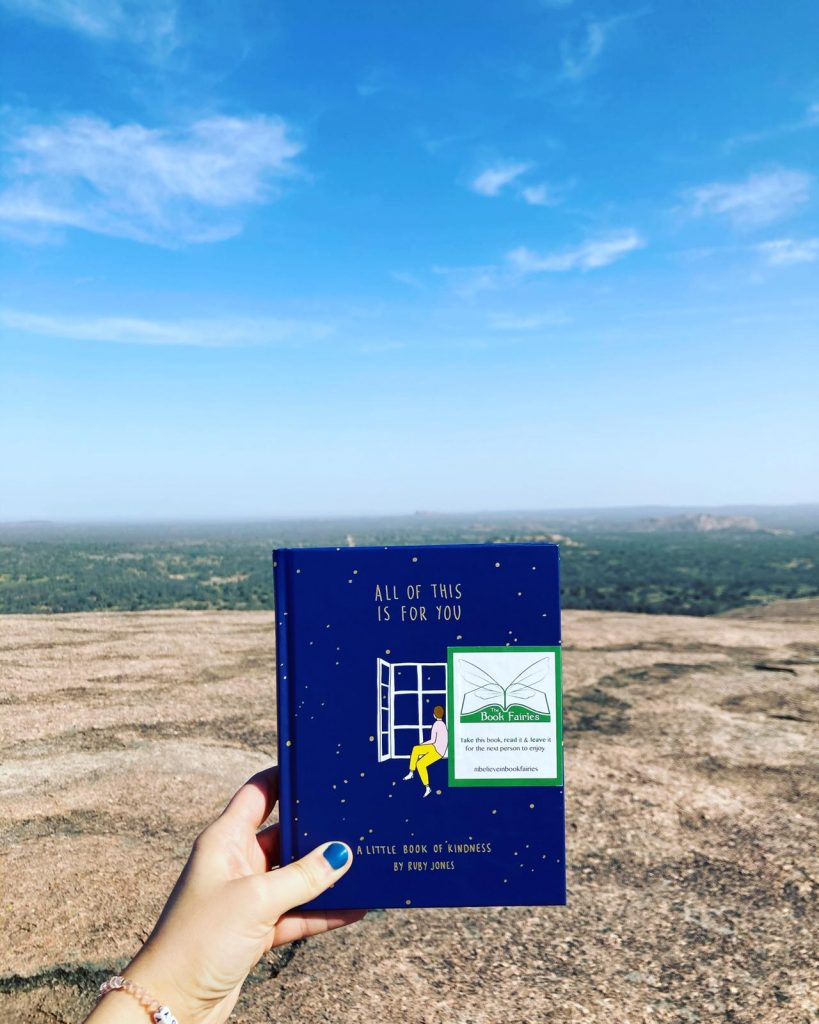 Book Fairies in Texas: Book Fairies hide copies of All Of This Is For You by Ruby Jones