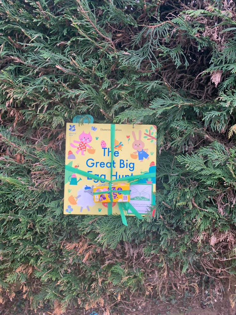 Hiding in Cornwall - Book fairies hide copies of National Trust title 'The Great Big Easter Hunt'