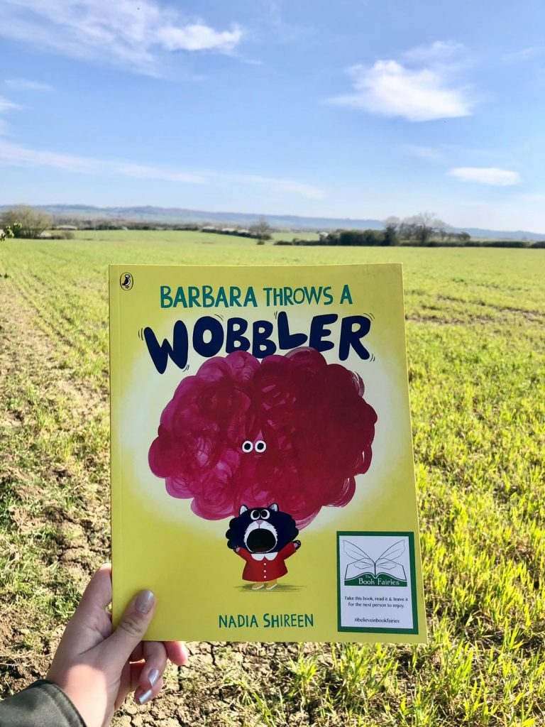 Hiding in beautiful Oxfordshire - Book Fairies hide Barbara Throws A Wobbler from Puffin Books