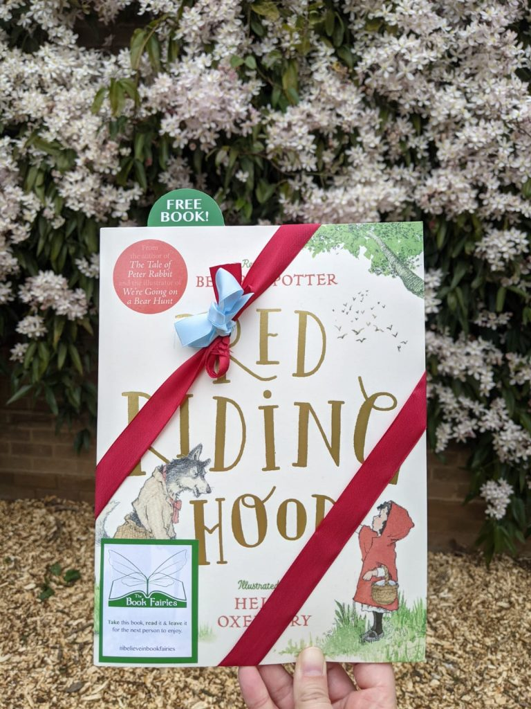 London book fairies - Book Fairies hide copies of Red Riding Hood by Beatrix Potter and Helen Oxenbury