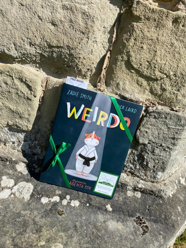 In Shropshire - Book fairies hide Zadie Smith's first children's book Weirdo around the UK