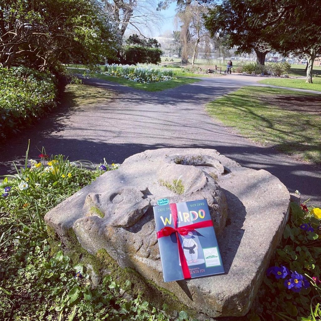 On a rock in Cornwall! Book fairies hide Zadie Smith's first children's book Weirdo around the UK