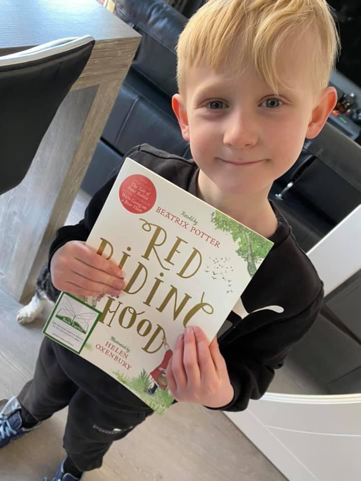 Book found - Book Fairies hide copies of Red Riding Hood by Beatrix Potter and Helen Oxenbury
