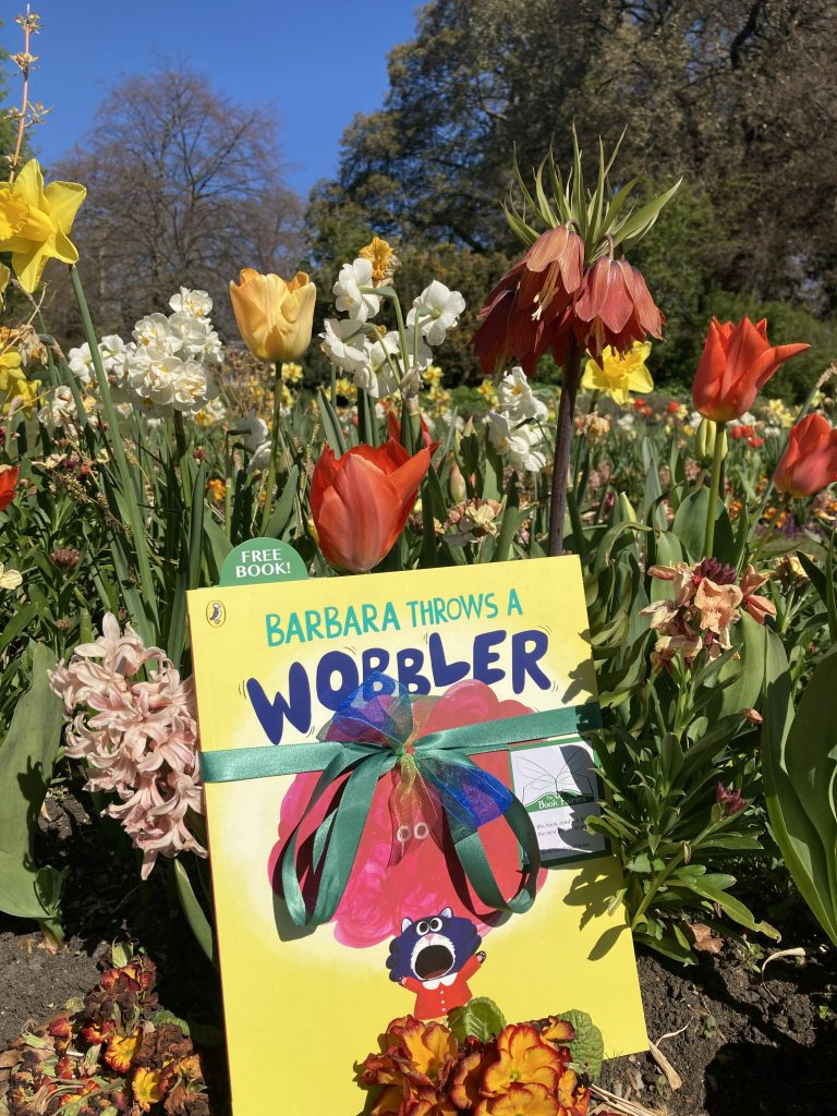 Hiding in Hyde Park London Book Fairies hide Barbara Throws A Wobbler from Puffin Books