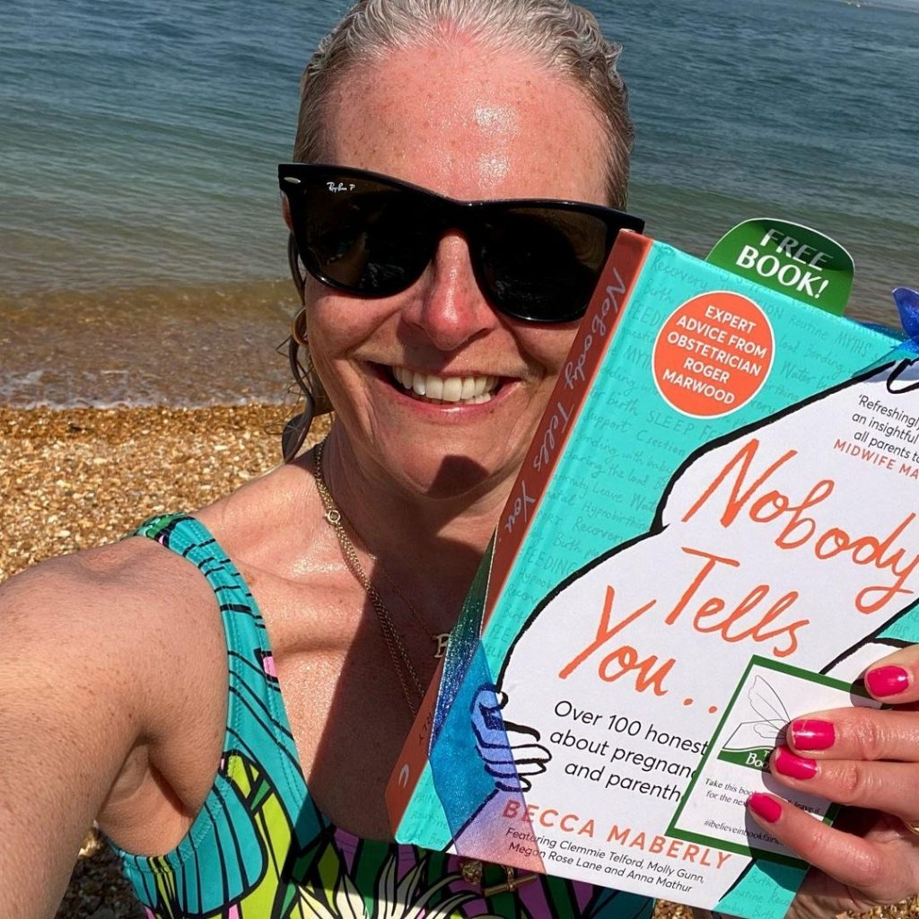 The author joins us - Book Fairies hide new book Nobody Tells You by Becca Maberly