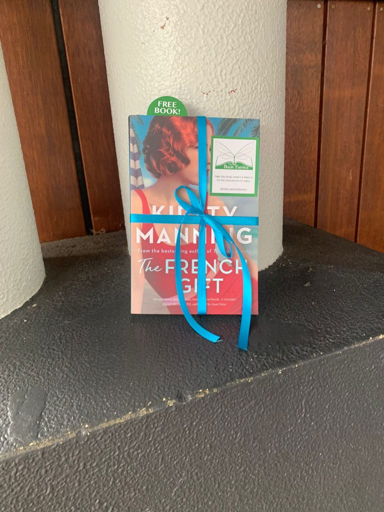 Hiding in Sydney - The Book Fairies in Australia hide copies of The French Gift by Kirsty Manning