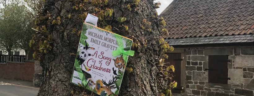 In West Lothian - Book fairies hide Michael Morpurgo's A Song of Gladness around the UK