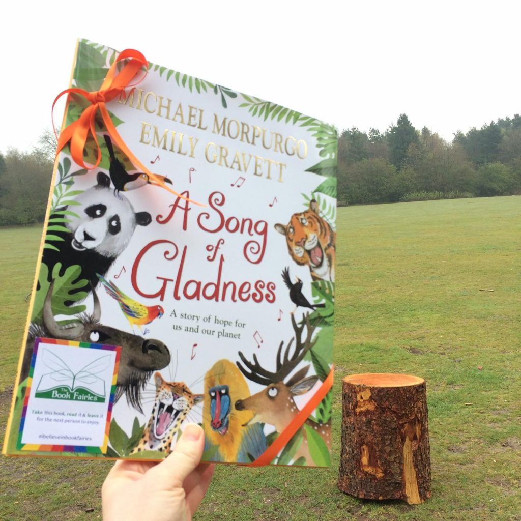 In Oxford - Book fairies hide Michael Morpurgo's A Song of Gladness around the UK