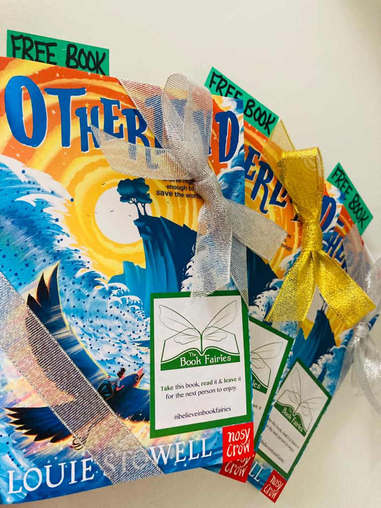 Beautifully wrapped up - Otherland by Louie Stowell hidden by The Book Fairies in the UK