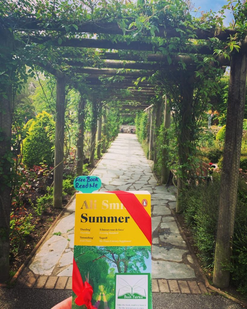 Book Fairies hide copies of Summer by Ali Smith in Cornwall