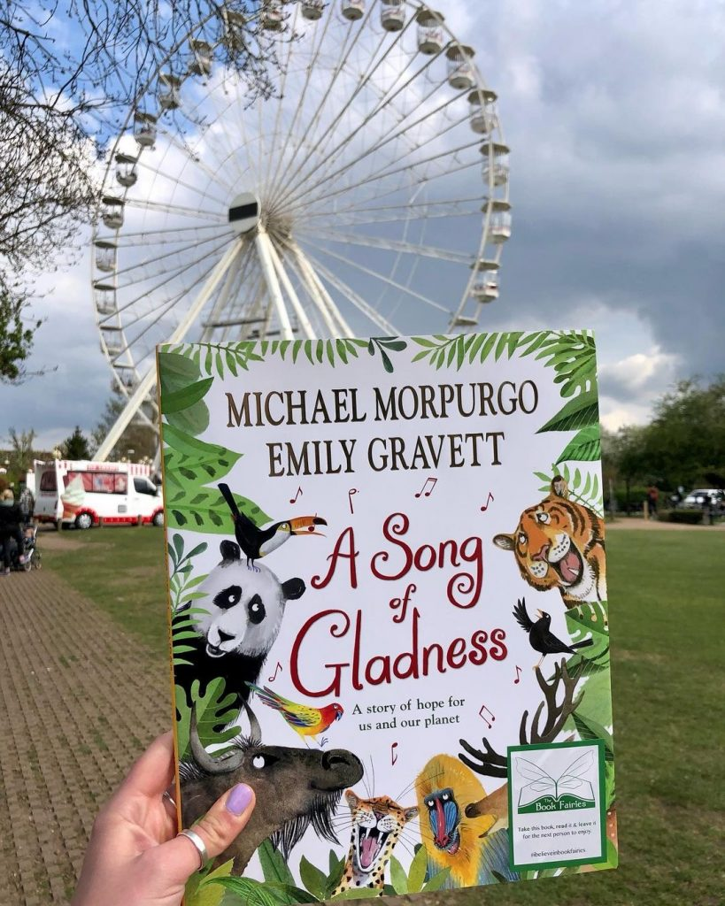 In Stratford Upon Avon - Book fairies hide Michael Morpurgo's A Song of Gladness around the UK