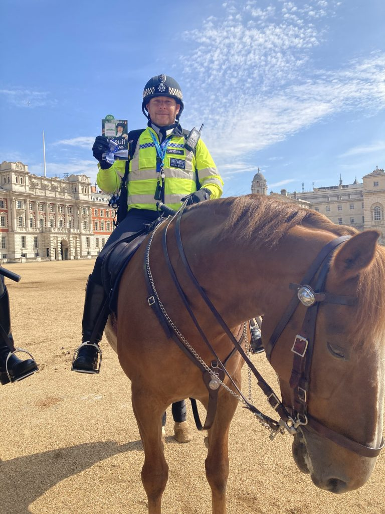 Mounted Police - Book Fairies hide copies of The Pursuit of Love for BBC drama