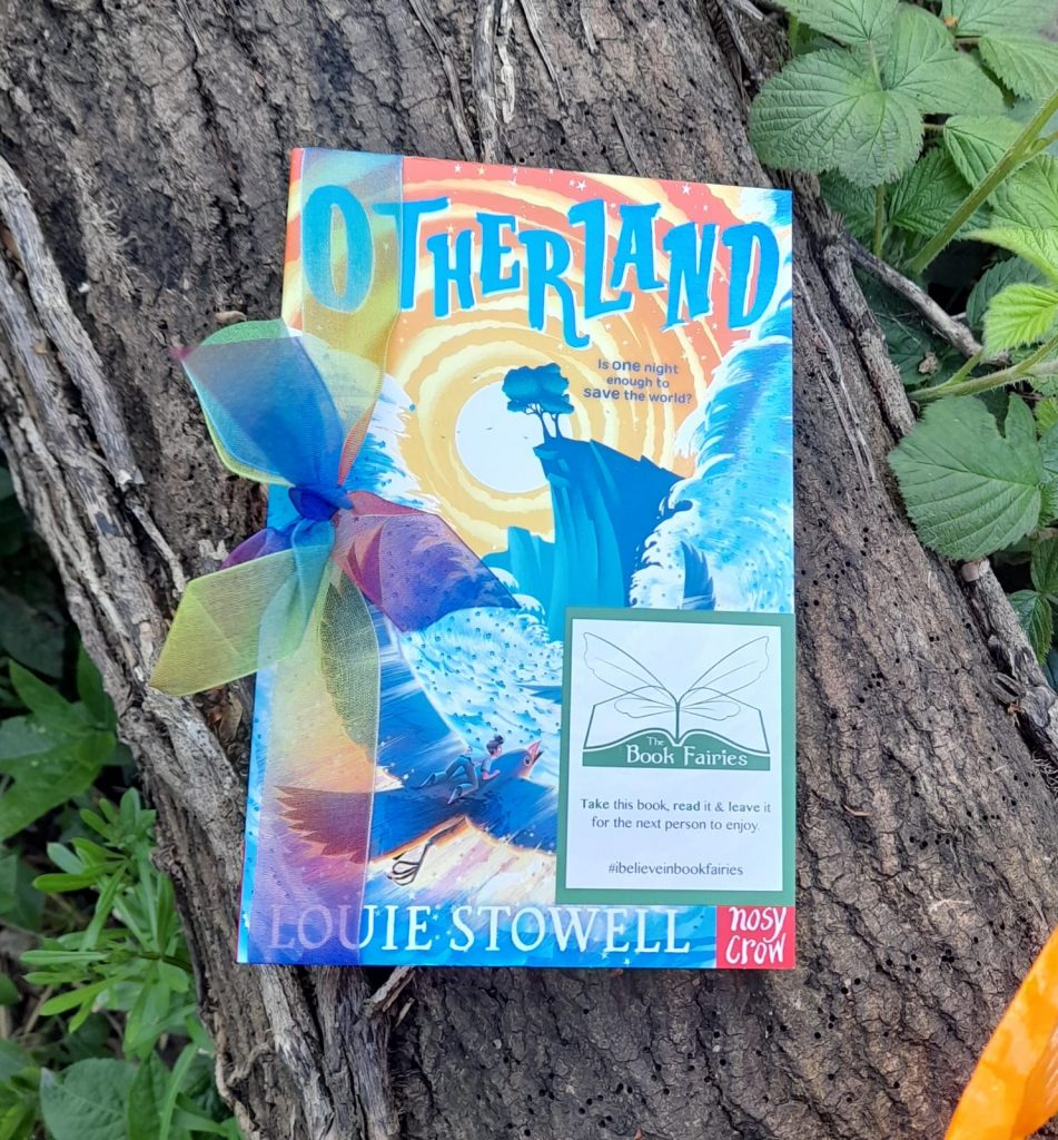 At a tree - Otherland by Louie Stowell hidden by The Book Fairies in the UK