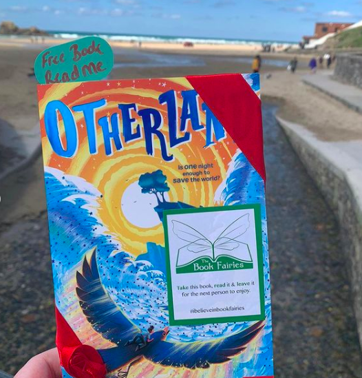 At a Cornish beach - Otherland by Louie Stowell hidden by The Book Fairies in the UK