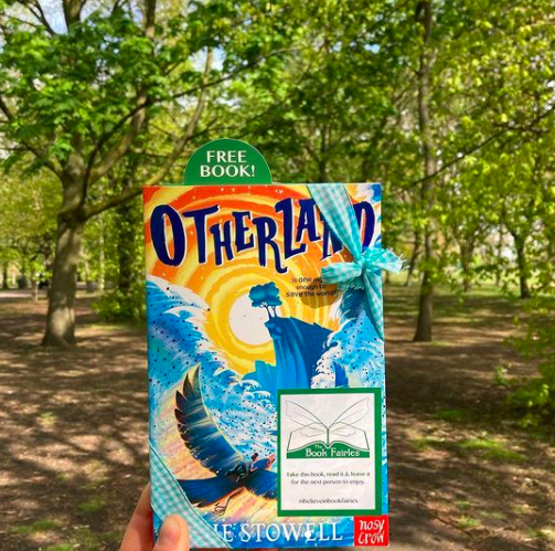 In a London park - Otherland by Louie Stowell hidden by The Book Fairies in the UK