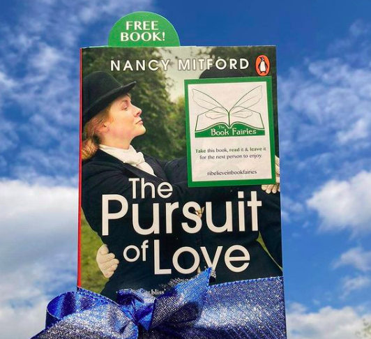 Beautiful - Book Fairies hide copies of The Pursuit of Love for BBC drama