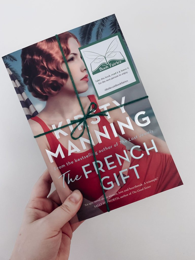 A perfect pic - The Book Fairies hide The French Gift around Australia