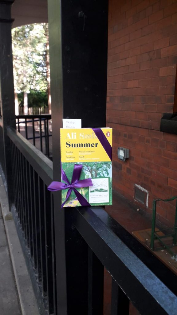 Book Fairies hide copies of Summer by Ali Smith around the UK