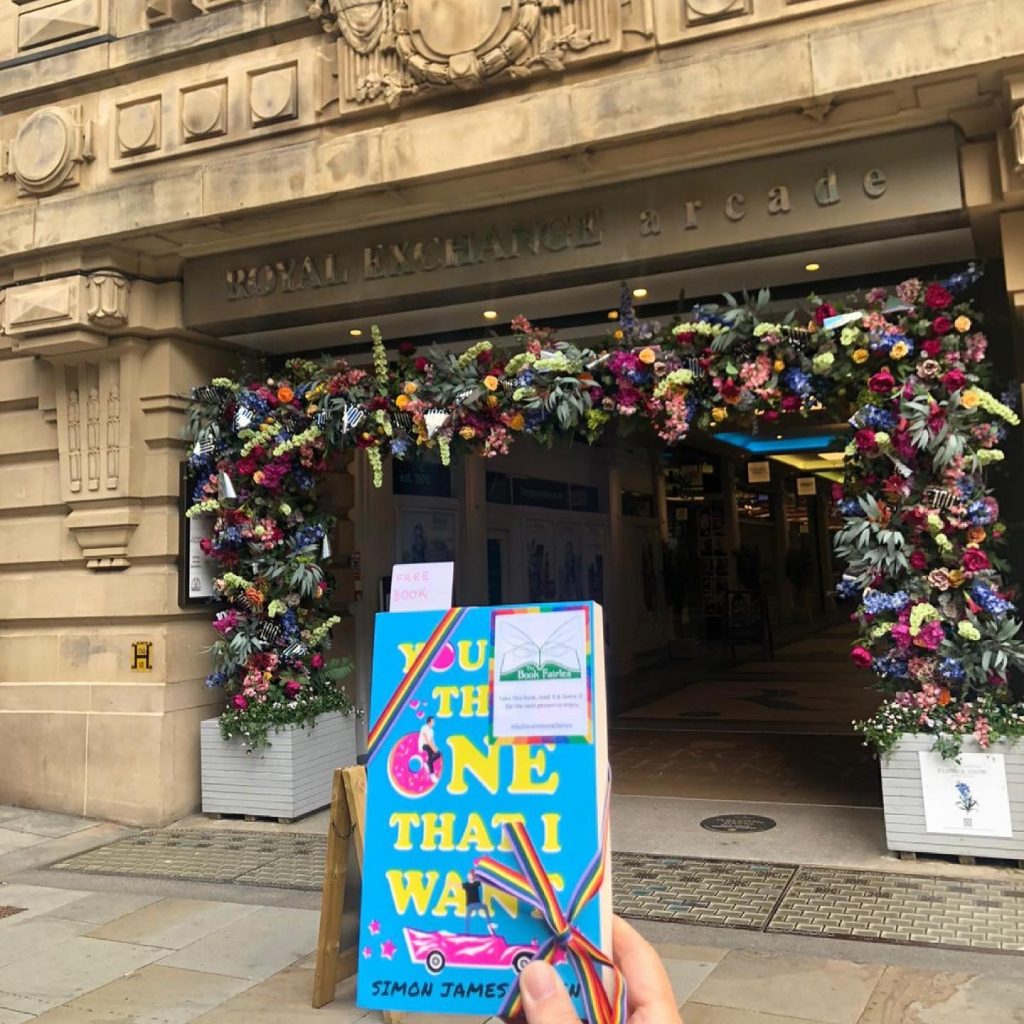 Book Fairies share Simon James Green's novel You're The One That I Want as part of Pride in Manchester