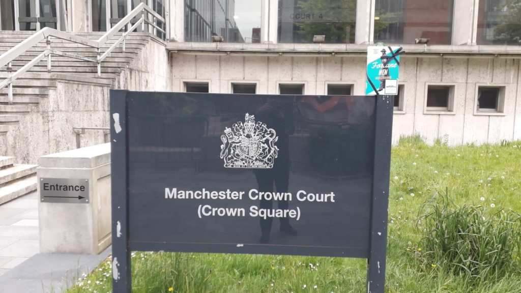 The Fortune Men by Nadifa Mohamed hidden by The Book Fairies at Manchester Crown Court