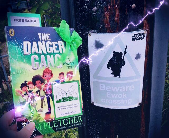 Book Fairies share copies of The Danger Gang by Tom Fletcher - beware