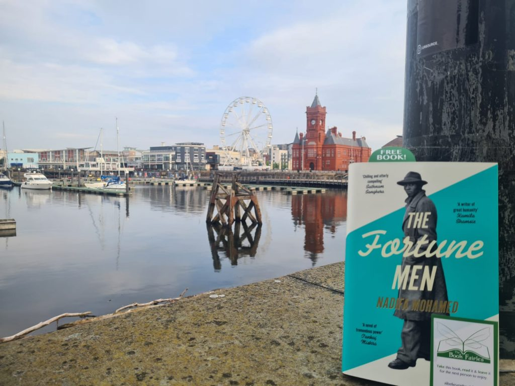 The Fortune Men by Nadifa Mohamed hidden by The Book Fairies in Cardiff Bay