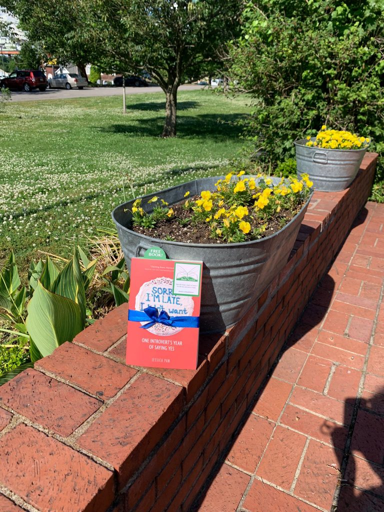 Book fairies in North America hide copies of Sorry I'm Late I Didn't Want To Come - in Washington D.C.