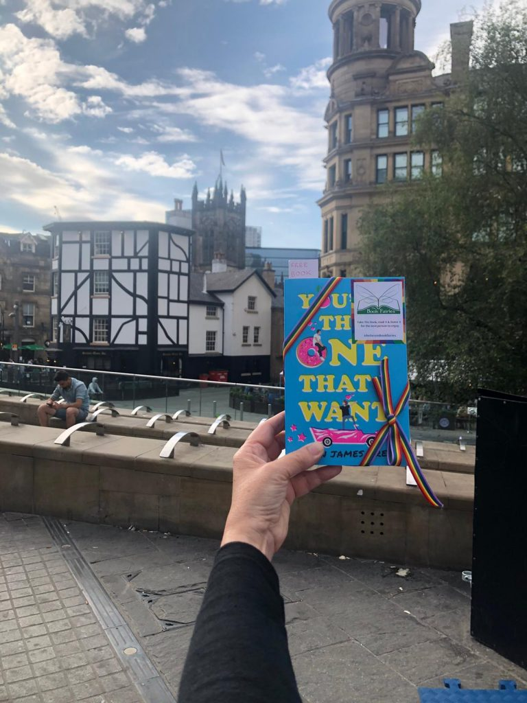 Book Fairies share Simon James Green's novel You're The One That I Want as part of Pride in Northern Quarter Manchester