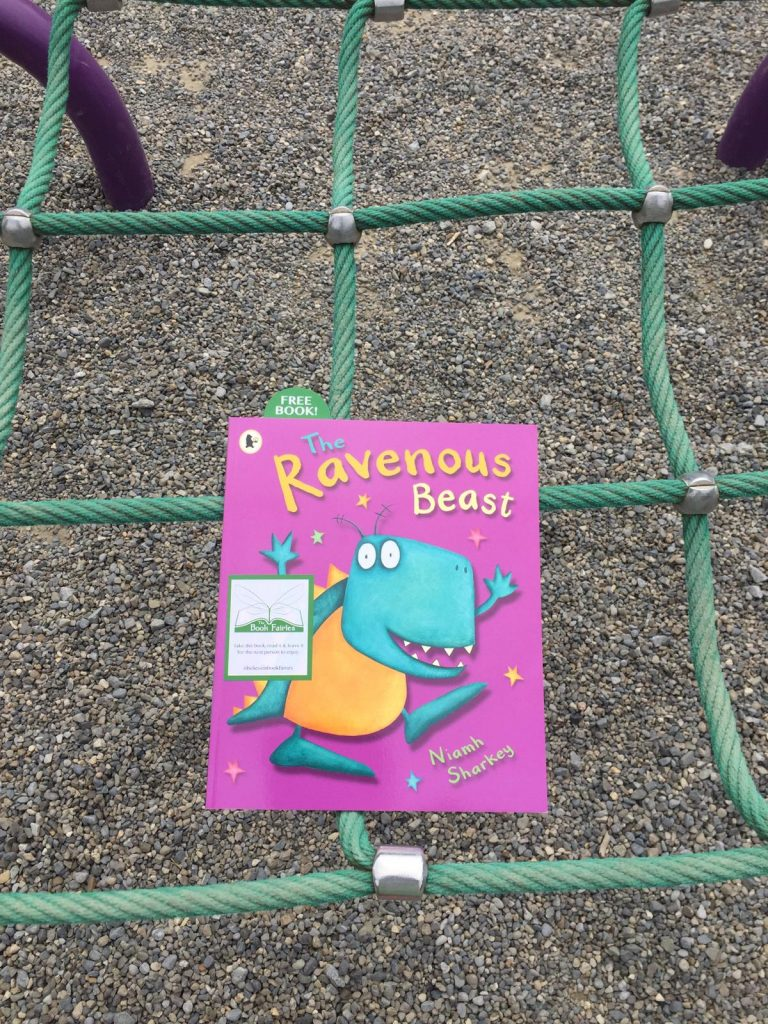 The Book Fairies in Ireland with Cruinniú na nÓg and Fingal Libraries at a playground
