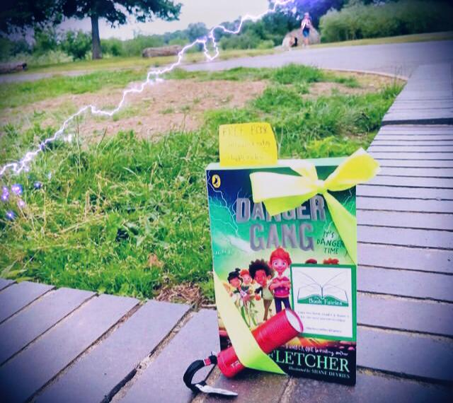Book Fairies share copies of The Danger Gang by Tom Fletcher in Peterborough