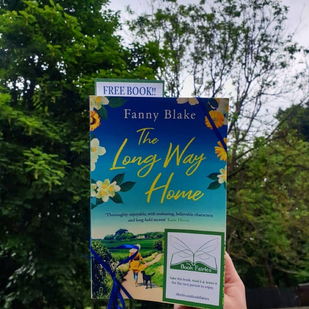 The Book Fairies celebrate The Long Way Home by Fanny Blake in Brighton