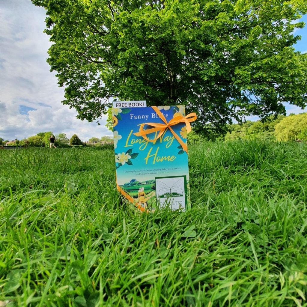 The Book Fairies celebrate The Long Way Home by Fanny Blake in Yorkshire