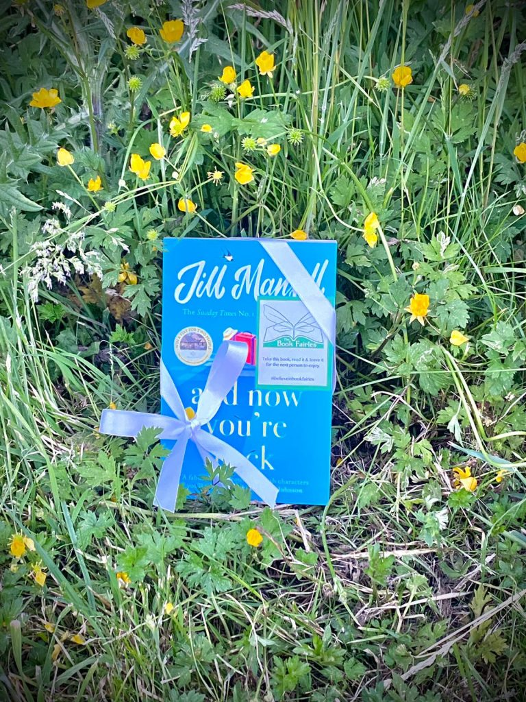 The Book Fairies and Jill Mansell share copies of And Now You're Back in Essex
