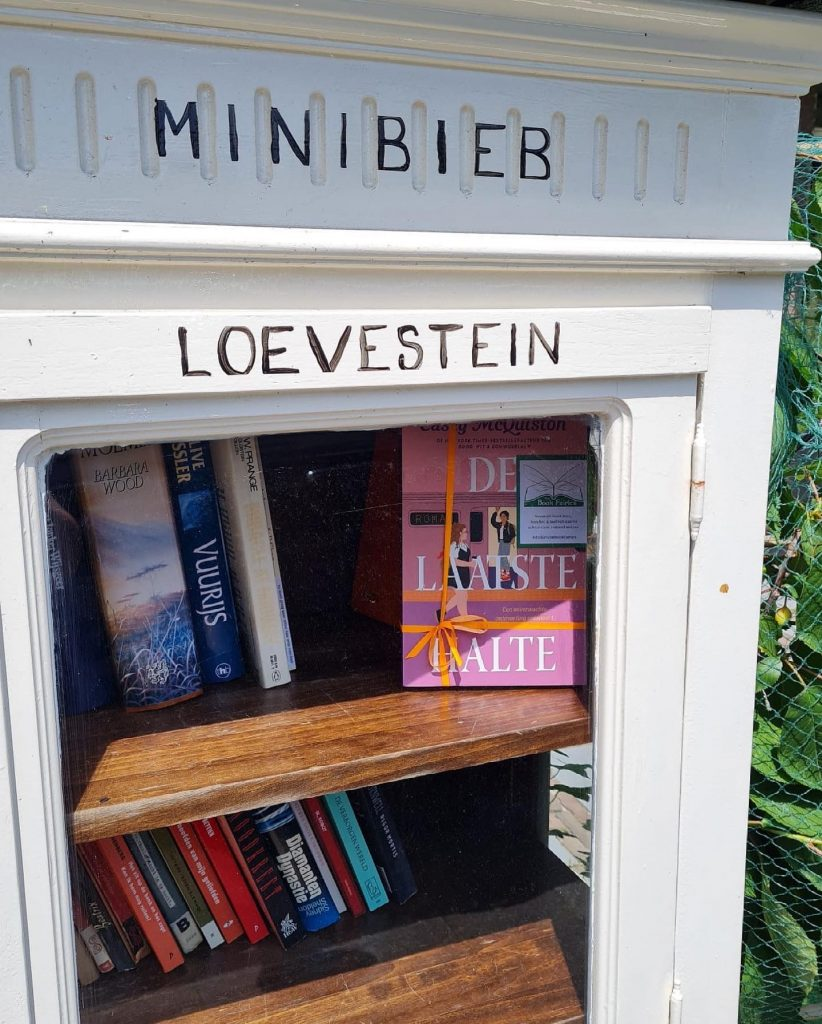 The Book Fairies in the Netherlands shared De Laatste Halte by Casey McQuiston a small little free library