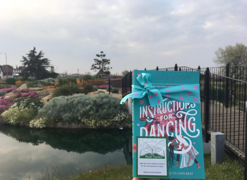 Nicola Yoon's new novel Instructions for Dancing hidden by The Book Fairies in Derby
