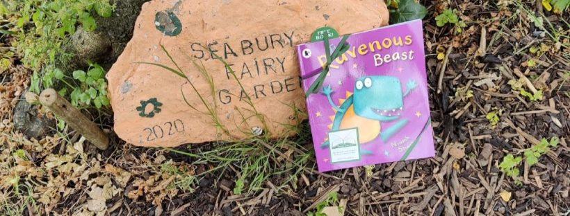 The Book Fairies in Ireland with Cruinniú na nÓg and Fingal Libraries - secret fairy garden