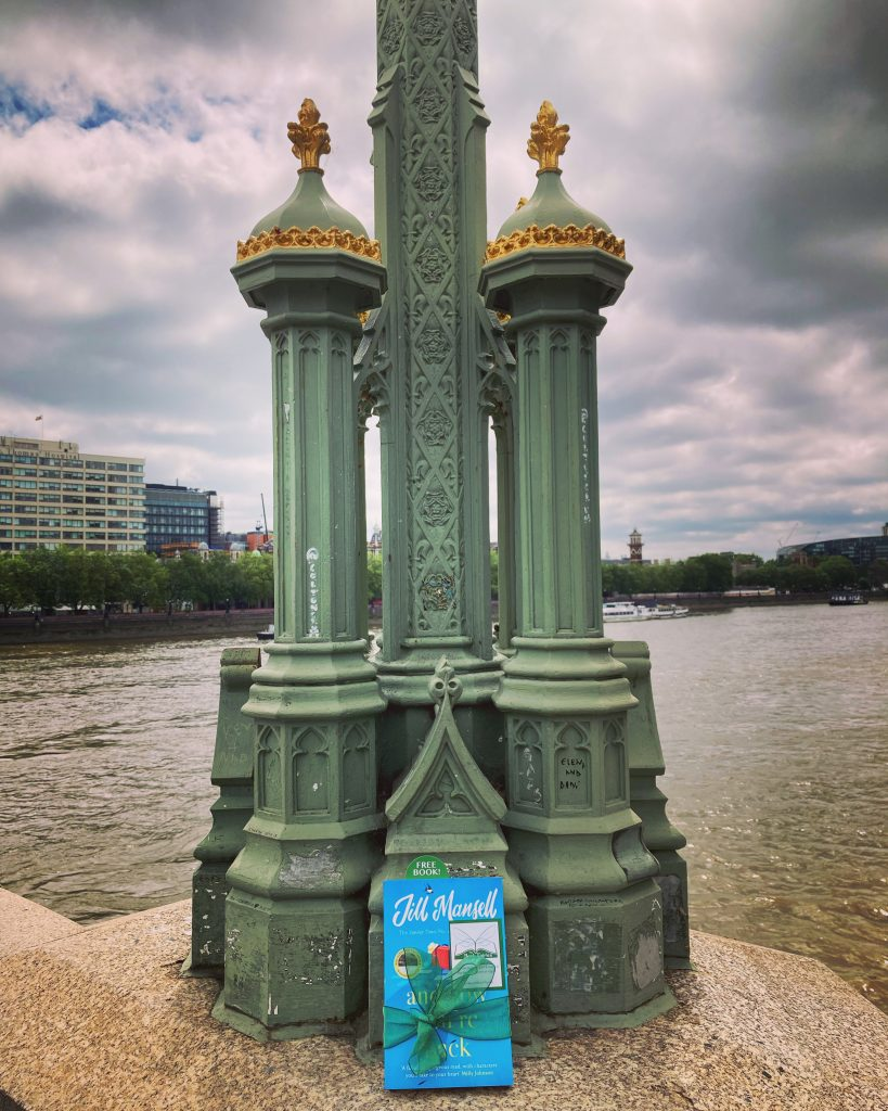 The Book Fairies and Jill Mansell share copies of And Now You're Back in London