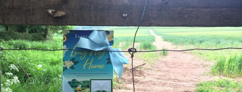 The Book Fairies celebrate The Long Way Home by Fanny Blake in Worcs