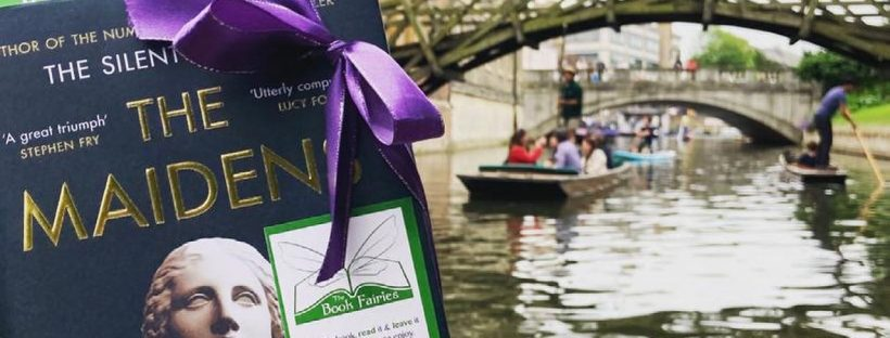 The Book Fairies work with Orion Books on The Maidens promotion