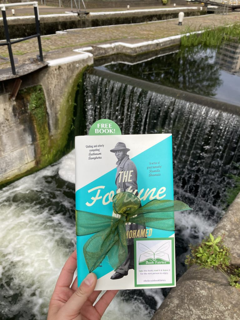 The Fortune Men by Nadifa Mohamed hidden by The Book Fairies at London lock