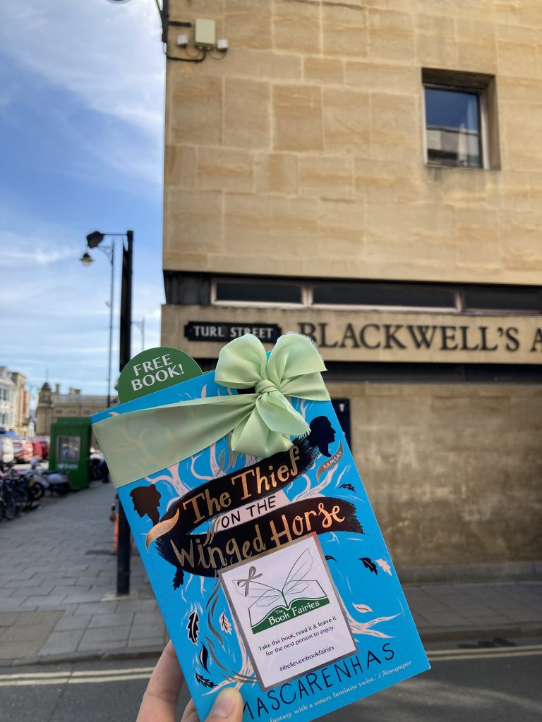 Book Fairies hide The Thief on the Winged Horse by Kate Mascarenhas - at Blackwell's Oxford