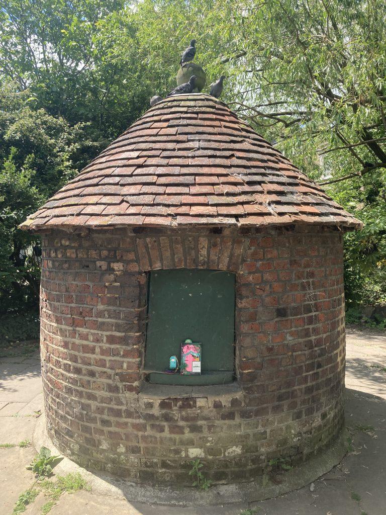 Aziza and the Secret Fairy Door hidden by Book Fairies in London
