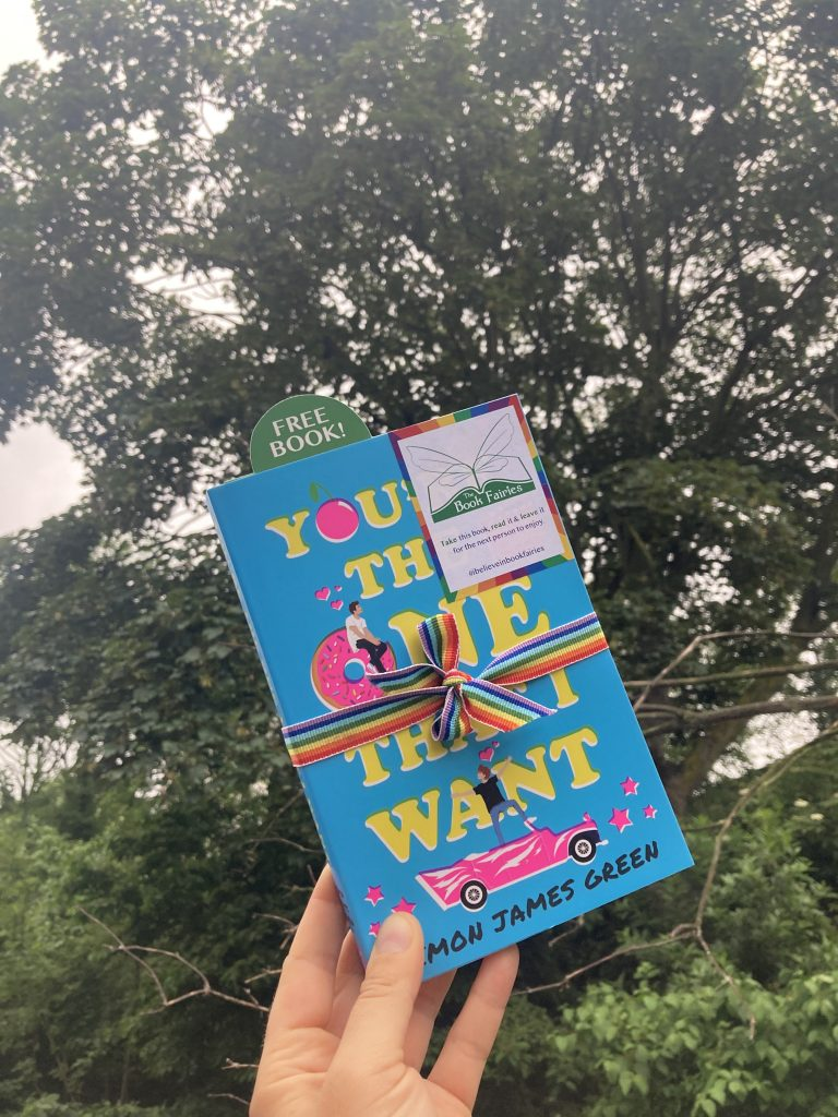 Book Fairies share Simon James Green's novel You're The One That I Want as part of Pride