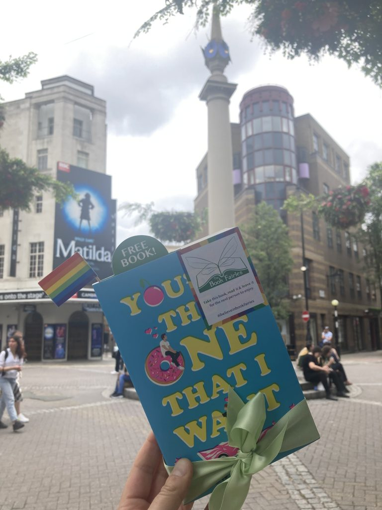Book Fairies share Simon James Green's novel You're The One That I Want as part of Pride in Covent Garden London
