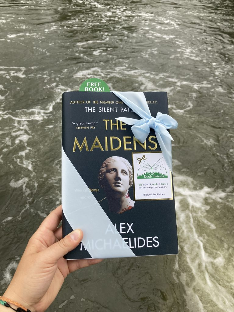 The Book Fairies work with Orion Books on The Maidens promotion at River Cam